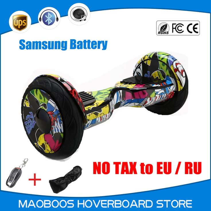 Hoverboard 10 inch Drift scooter overboard oxboard unicycle electric Hoverboard self balance electric Hover board Scooter //Price: $431.20//     #shopping