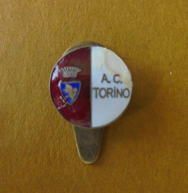 DISTINTIVO CALCIO AC TORINO PIN BADGE FOOTBALL SPILLA