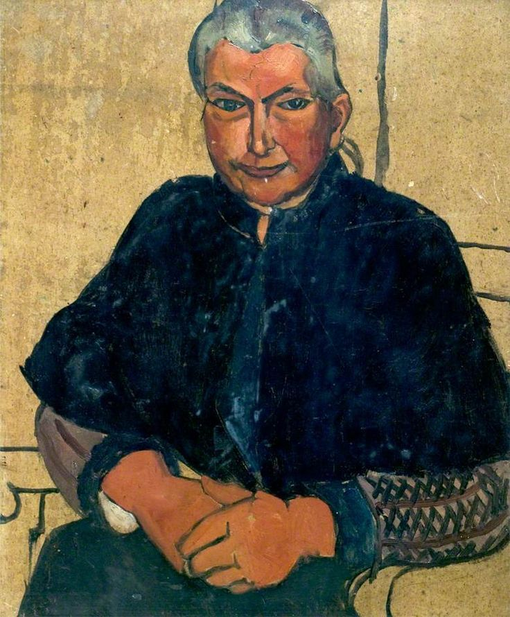 Woman in Black (date unknown) by Christopher Wood, Leicestershire County Council