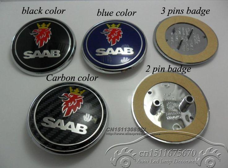 Find More Emblems Information about [DHL]Excellent quality 100pc alloy 68mm SAAB front bonet bonnet rear boot hood badge blue 3pins / 2 pins car emblem,High Quality emblem car,China emblem honda Suppliers, Cheap car led emblem from 63434500667987 on Aliexpress.com
