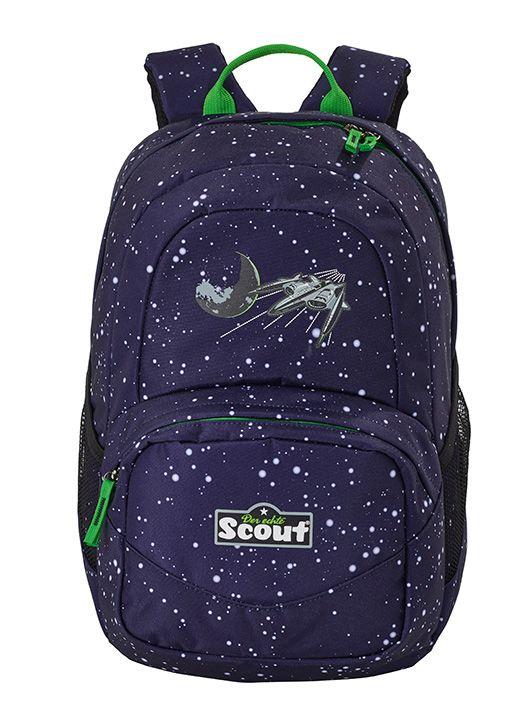 Scout Space Schulranzen im Weltraum-Motiv. Schulranzen, Ranzen-Sets und Zubehör günstig kaufen bei Top-Schulranzen.de bestellen.