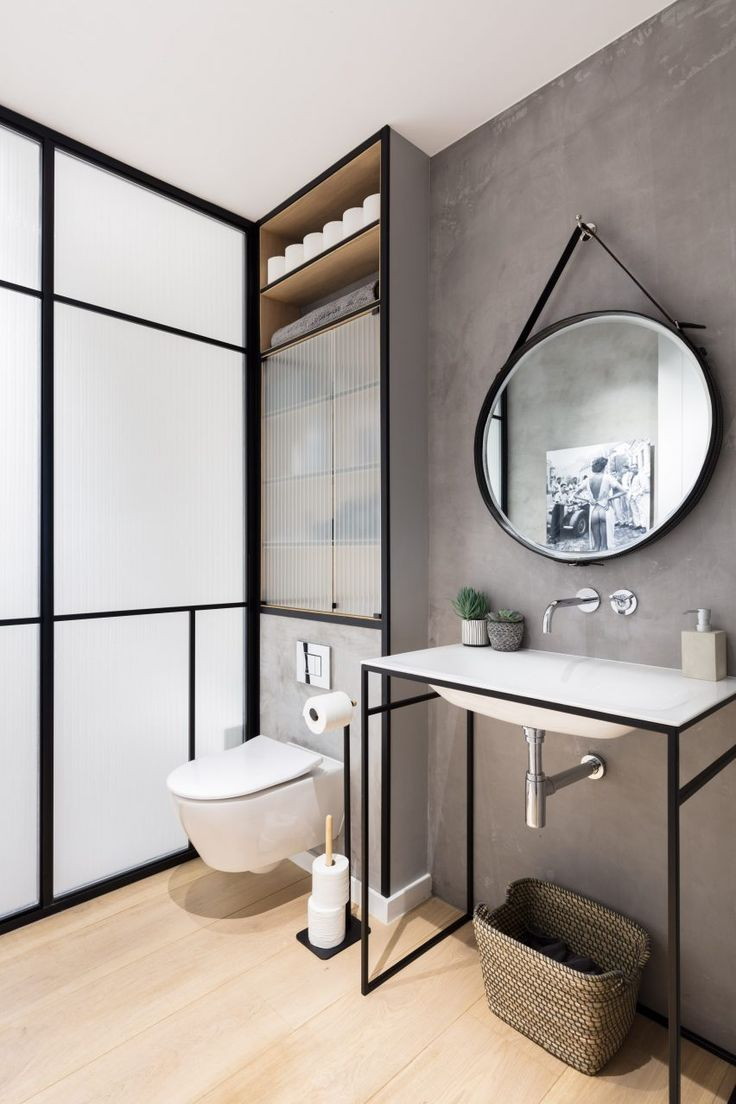 Times square new years eve bathroom - Contempory Furnishings And Richly Textured Fabrics Update Vanilla Home In London