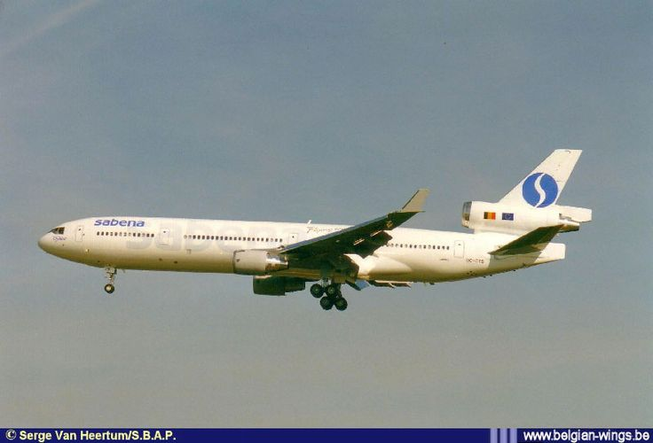 McDonnell Douglas MD-11 OO-CTS