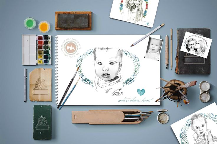 Watercolour Heart ~ A Review & Giveaway - Pregnant in Cape Town & ever after...