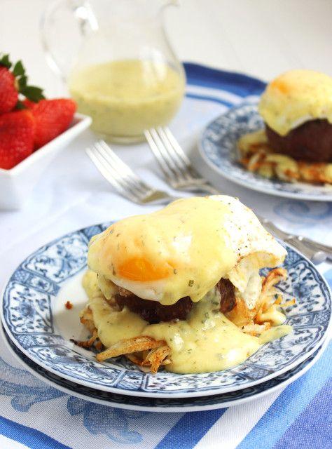 Steakhouse Eggs Benedict   The Suburban Soapbox