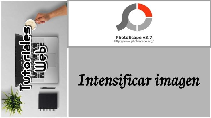 PhotoScape 2017 - Intensificar imagen (español)