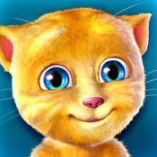 Talking Ginger App is sooooooooo cute