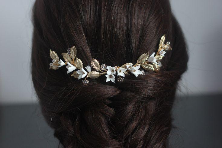 SERENA | Bridal headpiece, bridal hairc comb, wedding hair accessories, wedding hair piece, wedding headband, peigne cheveux mariage, tiara
