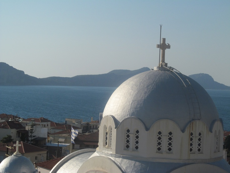 Church in Pylos, Greece
