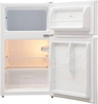 Réfrigérateur 2 portes Essentielb ERTD 85-50b1  (Boulanger. Retrait en 1 heure dans nos 131 magasins en France*.) - Volume : 87 Litres - Congélateur : Dégivrage manuel - Réfrigérateur : Statique - L x H x P : 47 x 83.7 x 49.2 cm - 42 db