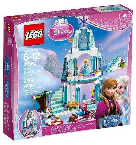 LEGO® Frozen Disney Princess Elsa's Sparkling Ice Castle 41062