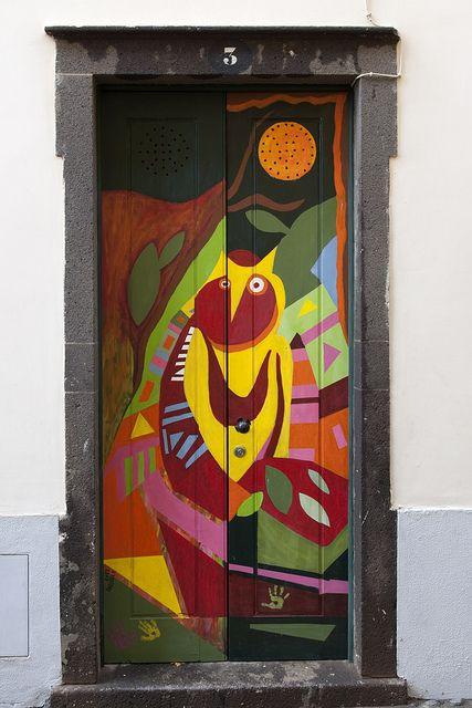 Madeira_door_DSC8124 by Ton Kuyper Fotografie, via Flickr
