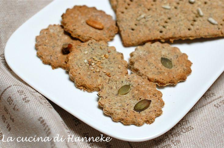 Crackers ai semi #senza glutine