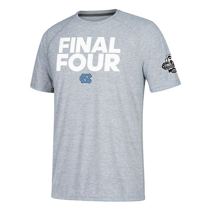 Men's North Carolina Tar Heels 2017 Men's Basketball Final Four One of Four Tee, Size: Large, Blue