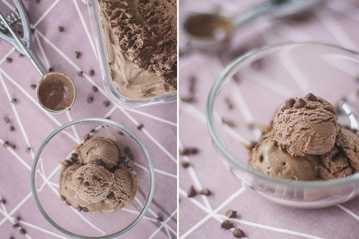 Sorvete de Chocolate (3 ingredientes)