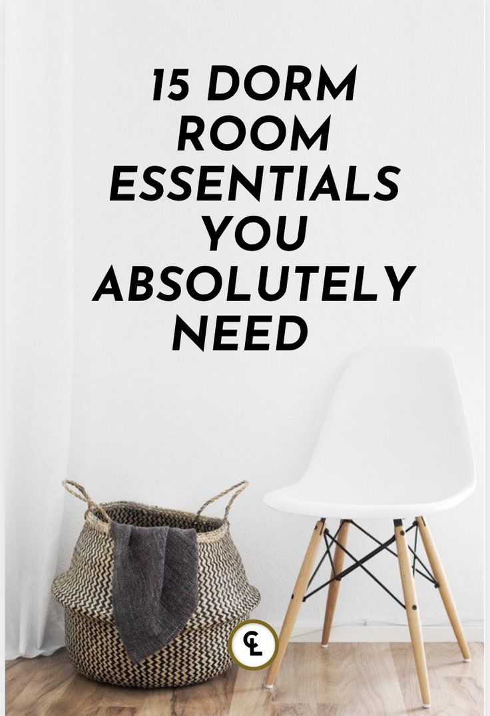 Typical Dorm Room: 15 Dorm Room Essentials In 2020