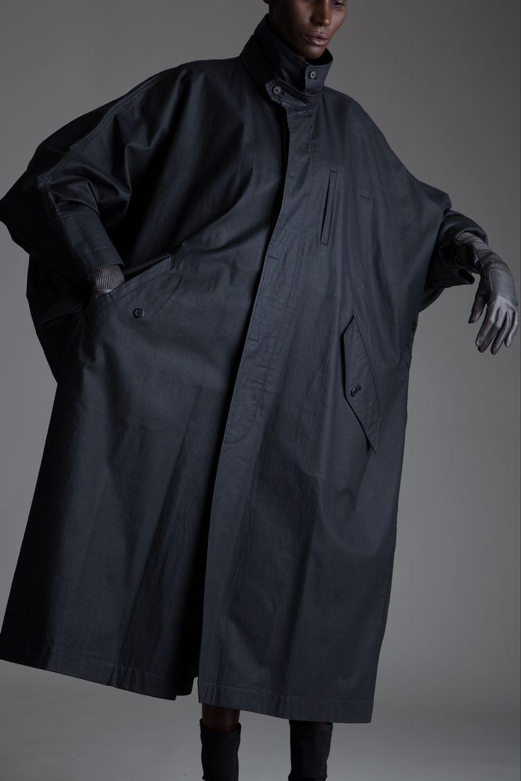 Vintage Issey Miyake Coated Windcoat