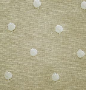 La Tavola linen. Bingo in color natural. Available for rounds and 8 ft. banquet tables.