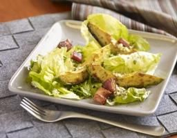 Baby Head Lettuce Salad with Caramelized California Avocados Recipe | California Avocado Commission
