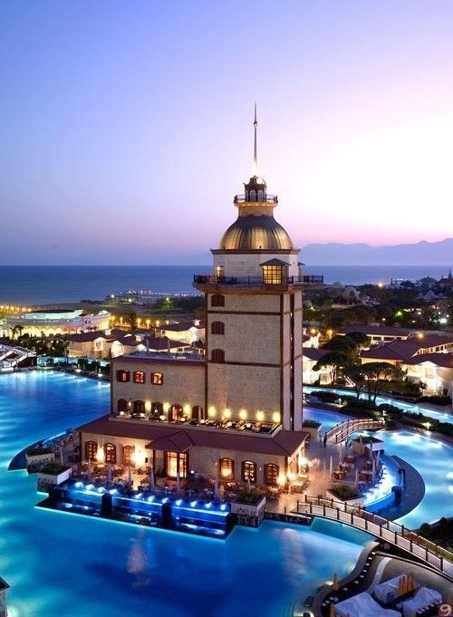 Mardan Palace Hotel, Antalya, Turkey