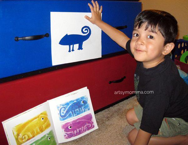 Preschool Colors Theme
