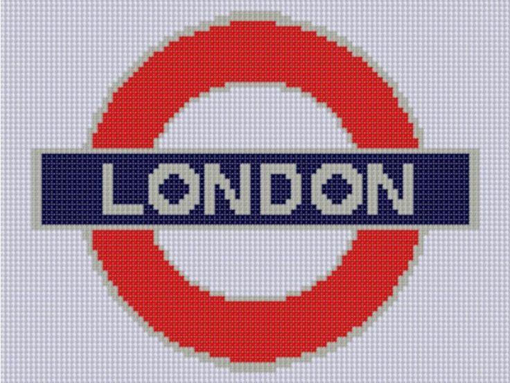 London Underground 2 Cross Stitch Patter