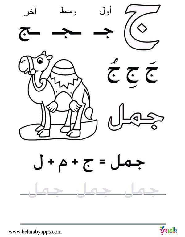 اوراق عمل لتعليم كتابة الحروف العربية للاطفال للطباعة اوضاع الحروف في الكلمه بالعربي نتع Arabic Alphabet For Kids Learn Arabic Alphabet Learn Arabic Language