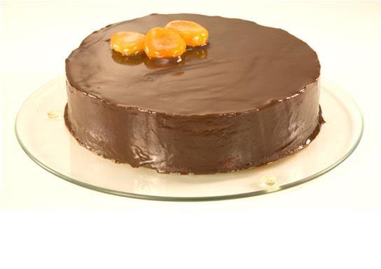 Bolo Especial de Chocolate com Damasco