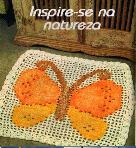 670 Best Images About Alfombras Crochet On Pinterest