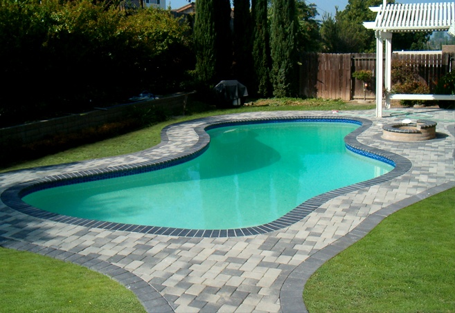 Pool Deck Design By Genesis Features A Kidney Organic
