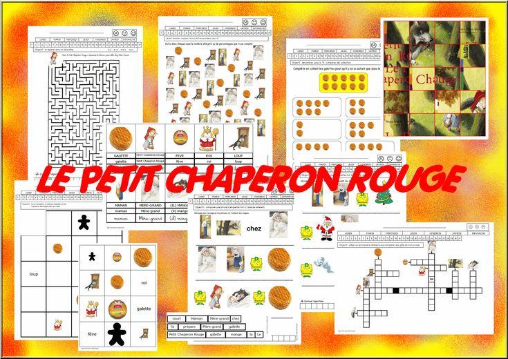 """Résultat de recherche d'images pour """"le petit chaperon rouge en maternelle"""""""