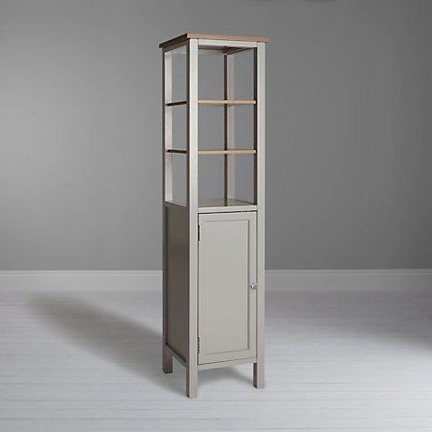 Buy John Lewis Croft Collection Blakeney Bathroom Tallboy, Light Silver Online at johnlewis.com
