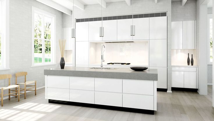 A custom designed kitchen with Scandinavian appeal