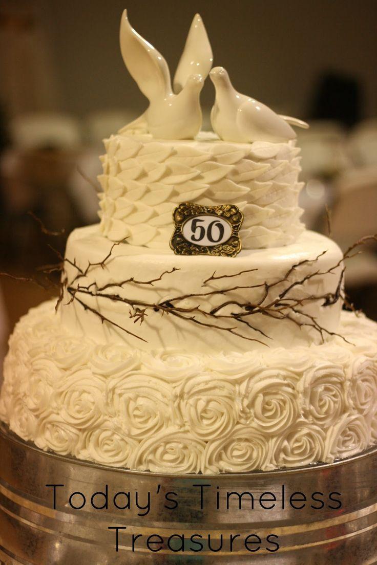 best 25 golden anniversary cake ideas on pinterest 50th. Black Bedroom Furniture Sets. Home Design Ideas