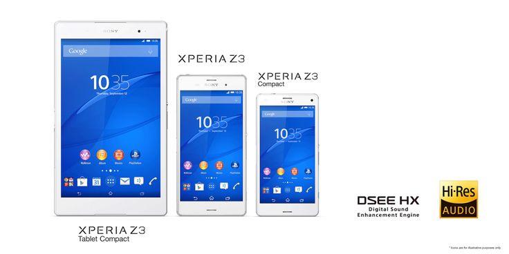 Xperia Z3 family