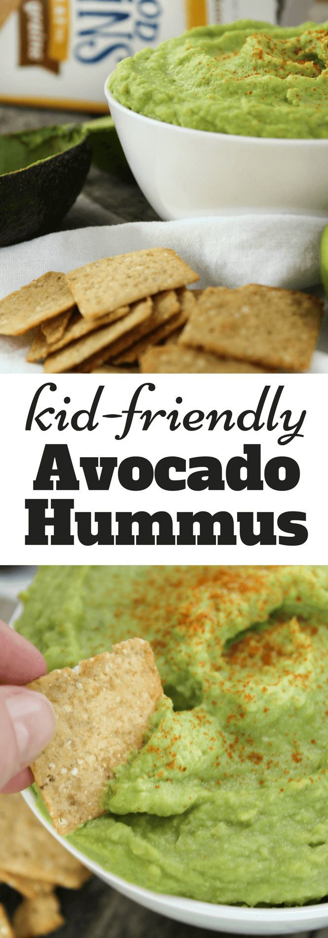 Avocado Hummus paired with GOOD THiNS | #TrySomeTHINGood #ad #collectiveBias, @krogerco , snacks, avocado, hummus, dips, kid-friendly recipe