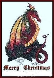 188 best Holiday-Christmas-Dragons images on Pinterest | Dragon ...