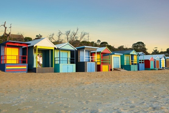Mt Martha Bathing Boxes 4, Mornington Peninsula, Victoria, Australia.