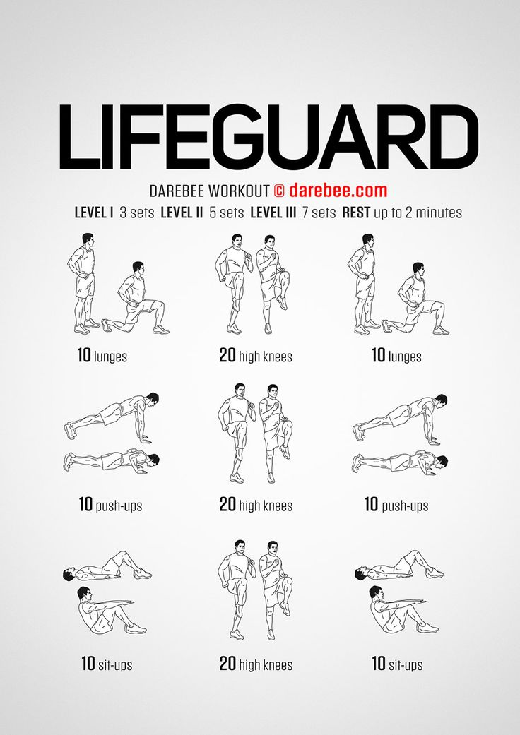 Lifeguard Workout