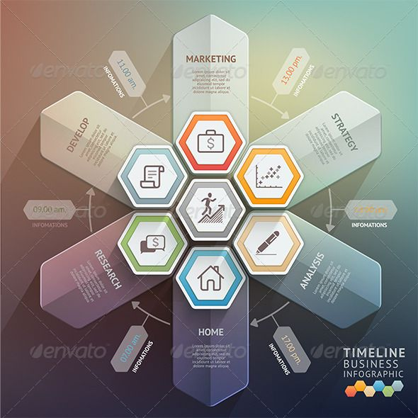 Arrow Timeline Infographics Template #design Download: http://graphicriver.net/item/arrow-timeline-infographics-template/8695108?ref=ksioks