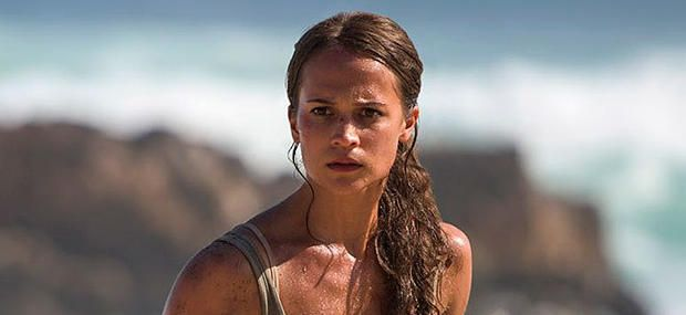 Official Images Reveal Alicia Vikander as Lara Croft in New TOMB ...
