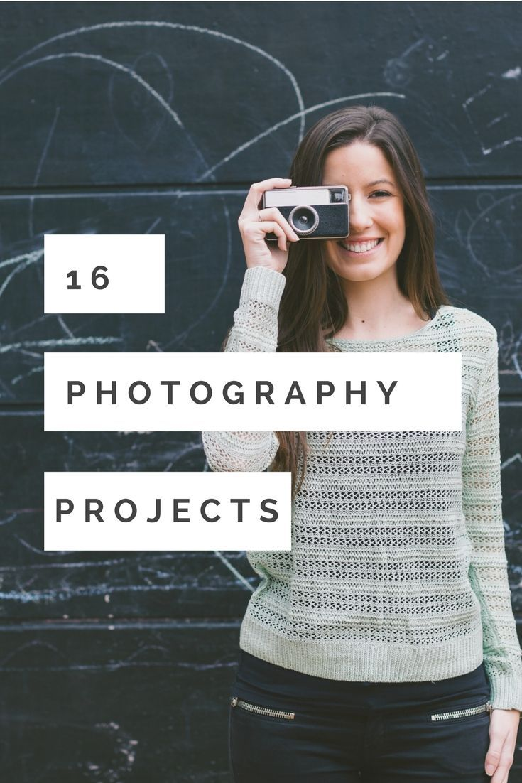 There are many photography projects to choose from, here are 16 photography project ideas to help you improve your photography skills. Choose one!