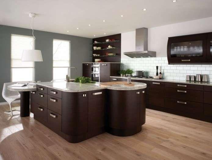Abbinamento colore pareti e mobili wengè Arredamento
