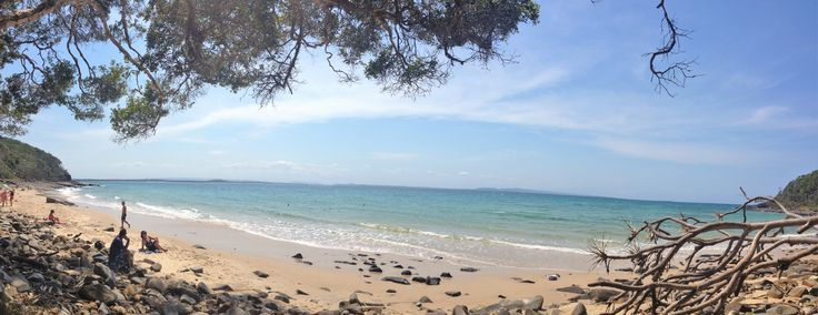 Walking the Coastal Track in Noosa National Park - take time for a swim at Tea tree Bay