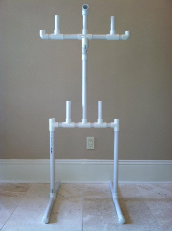 Hockey Equipment Drying Rack by PowerplayHockeyStuff on Etsy, $49.95