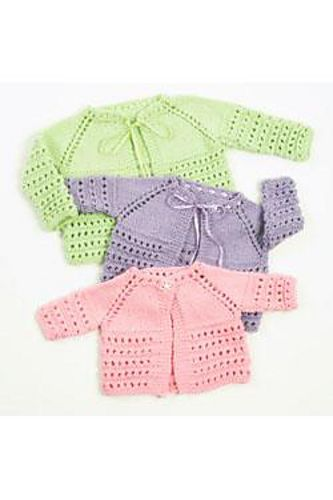 Ravelry: Top Down Baby Jacket pattern by Plymouth Yarn Design Studio