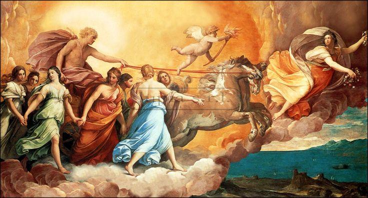 'L'Aurora' di Guido Reni, 1613-1614. »