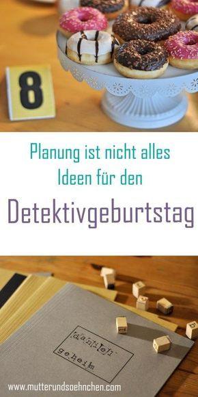 Detektiv Ausweis Kindergeburtstag - Planung und Ideen rund um den Detektivgeburtstag auf Mutter&Söhnchen #Detektivgeburtstag #Agentenparty #Detektivparty