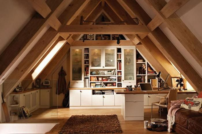 20 Of The Most Incredible Attics You Ve Ever Seen Attic Remodel Attic Rooms Attic Design