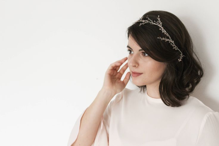 ROSE | Wedding hair vine, wedding crown, bridal vine, bridal crown, bridal accessory, wedding hair accessories, bridal hair comb, tiara